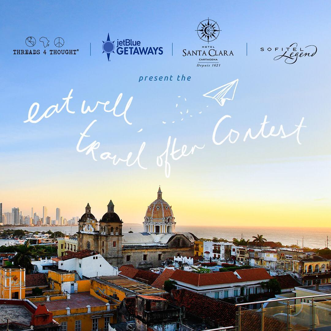 Pack your bags...we're sending you abroad!! We teamed up with @jetblue and @sofitelcartagena to give you the trip of a lifetime! Courtesy of #JetBluegetaways, one winner & a friend will win round trip airfare and a 2-night stay at the Sofitel Legend...