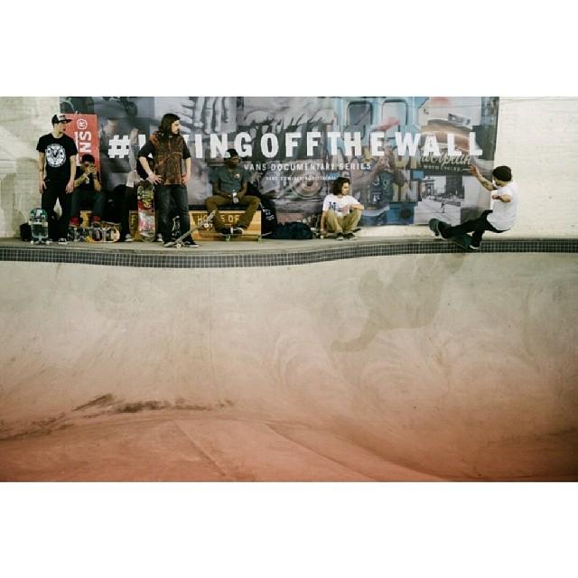 #Skate #LIVINGOFFTHEWALL en #HouseOfVans Brooklyn N.Y.