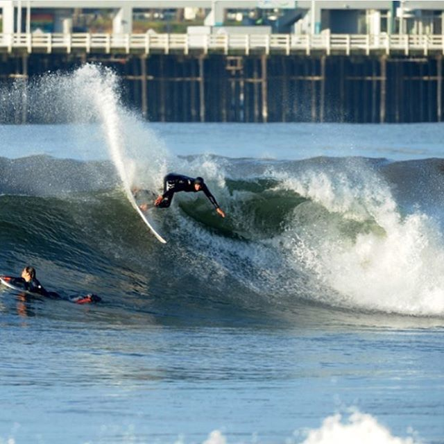 Do what you love and love what you do. At @proliteint we believe in authenticity and our employees do too. Our Nor Cal sales rep @dangerousnabalz supporting the cause and displacing some water at home. #Prolite #surftravel #microdot #surf