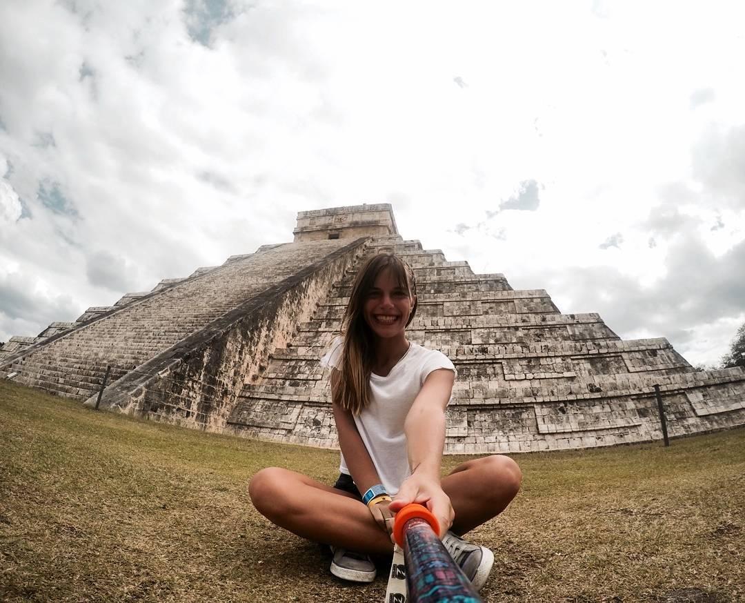 @micaelar5 con su #ZephyrPole desde #Yucatan #Mexico! Conseguí el tuyo en www.zephyrgear.com.ar!