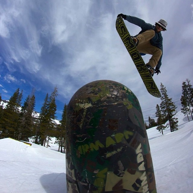 Here's a shot of @devinallen_ @borealmtn