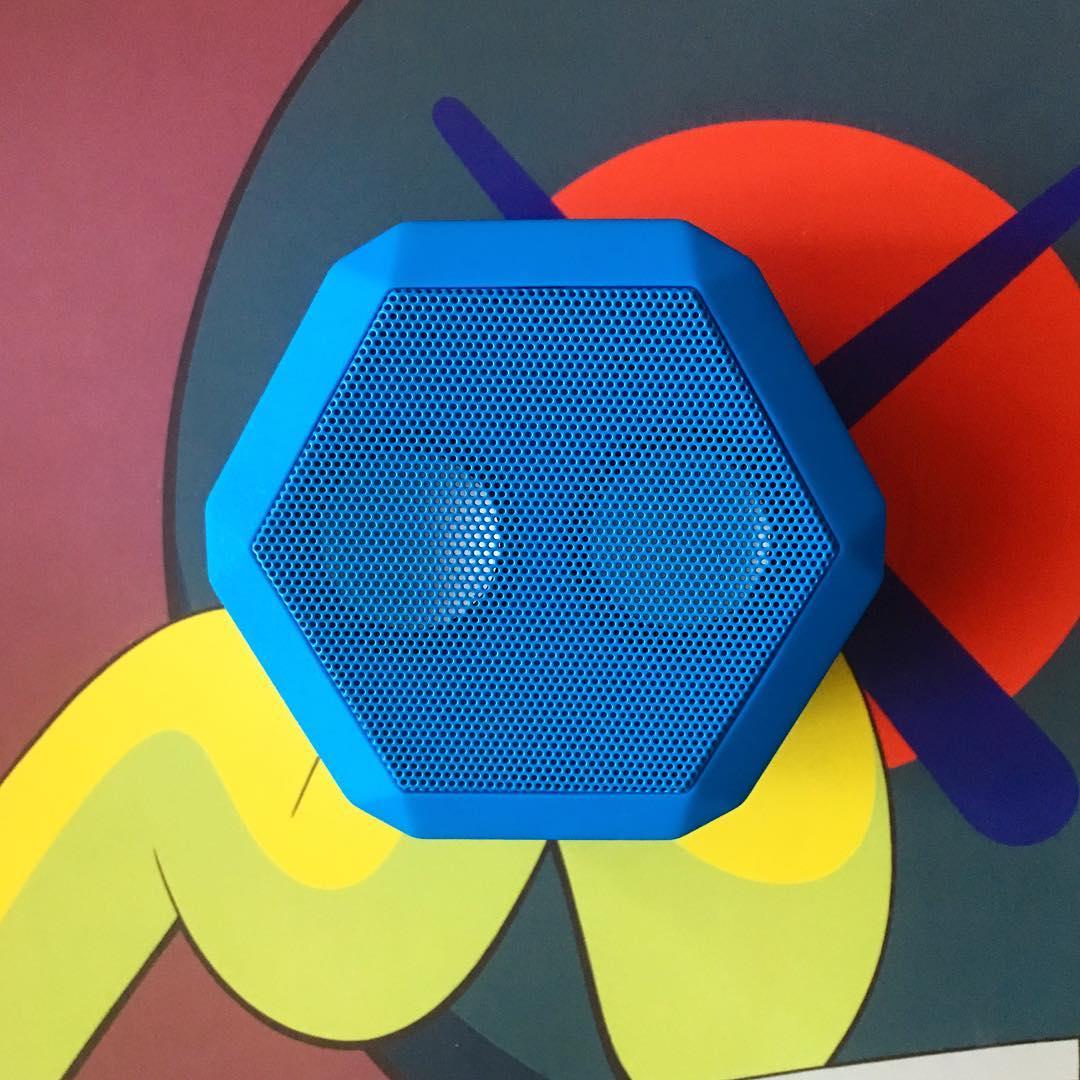Rex - Pacific Blue #Boombotix  #design #portablespeaker #Essentials #audiophile #kaws
