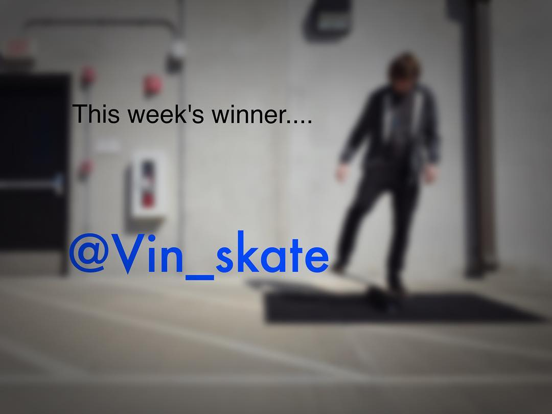 This week's t-shirt giveaway goes to @vin_skate! Stay tuned for more giveaways here as well as with @revbalance_fitness
