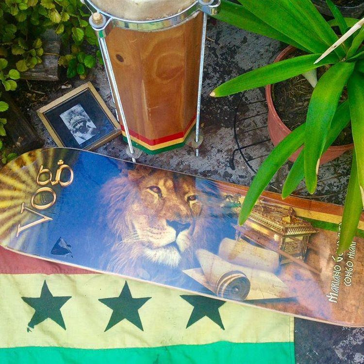 #Highermeditation #marianogonzalez #congomari #vogskateboards #jahlion
