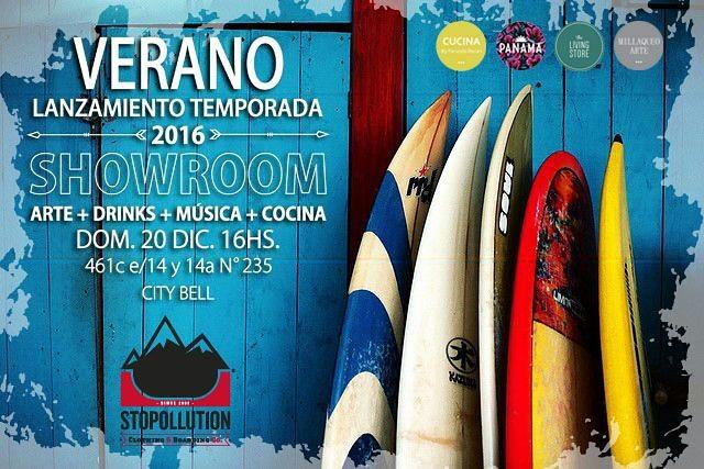 LANZAMOS LA TEMPORADA!! + SHOWROOM // Este domingo 20, a partir de las 16hs. Te esperamos en este evento con mucha onda y un showroom para que te lleves todo! // VERANO 2016 // SHOWROOM // MUCHA ONDA  #summer #verano #stopollution #new #season #skate...