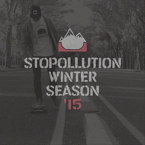 WINTER SEASON '15  Todas las camperas y remeras en nuestro Facebook!  Seguinos!! #stopollution #winter #nature #new #hoodie #zip #skate #longboard