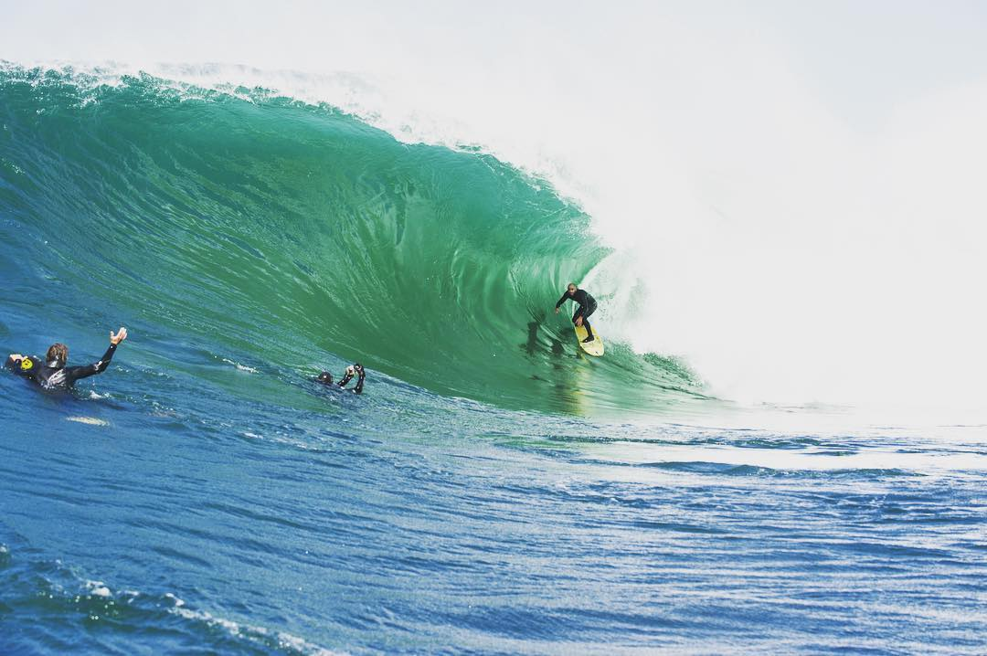 Happy St. Patty's from Shane Patrick Dorian in a mighty large and green Irish pit. #tbt #billabongadventuredivision