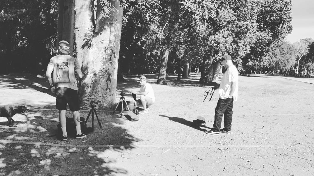 Dia de audiovisual y fotos.  Morre, Fede y Juano #skateboarding
