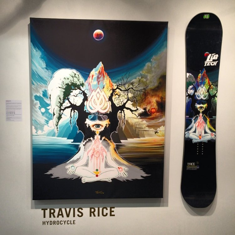 Stoke for days and days here at Asymbol! Get your asses down here. @_schoph_ 'S new pieces are live! And Legacy Of Disruption hangs until 4/2. Above is Hydrocylce by @mikeparillo...
