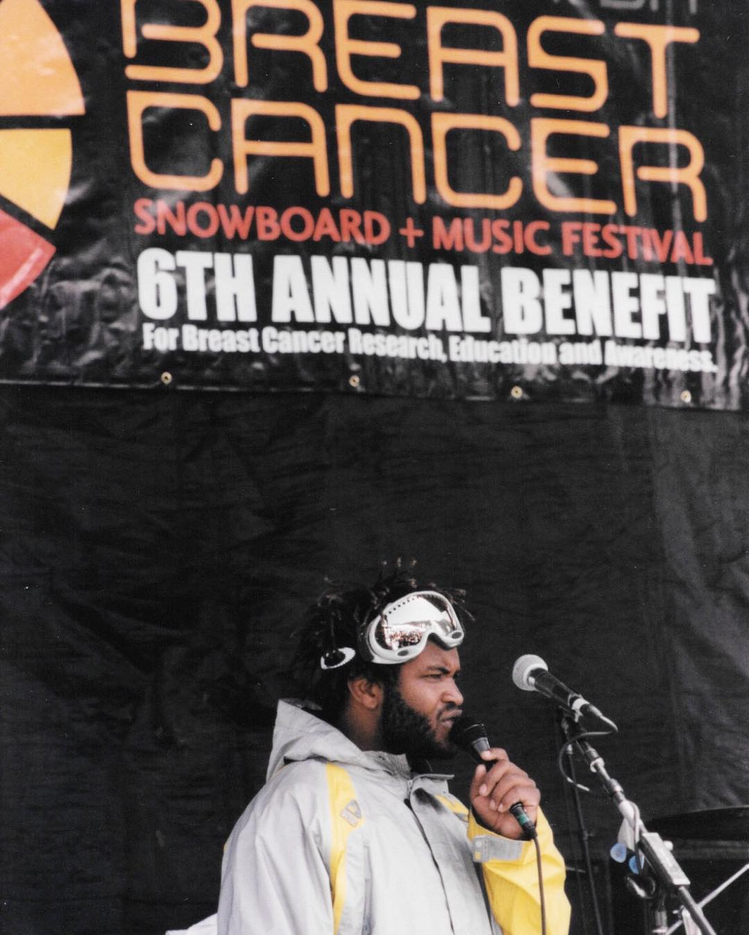 "#TBT and BIG NEWS... The one and only @SalMasekela is coming back to host the B4BC Snowboard + Music Festival this year!! From Sal: ""I'm hella excited to get up to Tahoe and celebrate the preservation of boobs. The selfless work that B4BC does to raise..."