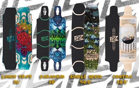 Some of our 2016 longboards are now available at @muirskate. Head on over to Muriskate.com to check them out! #muirskate #longboard #skateboard #longboarding #dblongboards