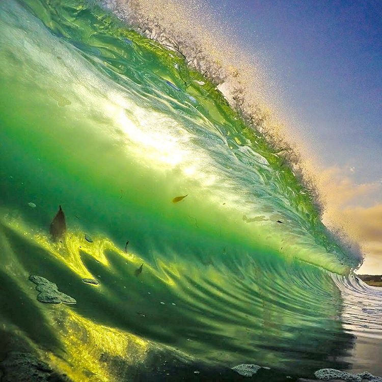 Happy St Patrick's Day! ☘Photo: @wavesonlymb GoPro HERO4 | GoPole Bobber #gopro #gopole #gopolebobber #happystpatricksday