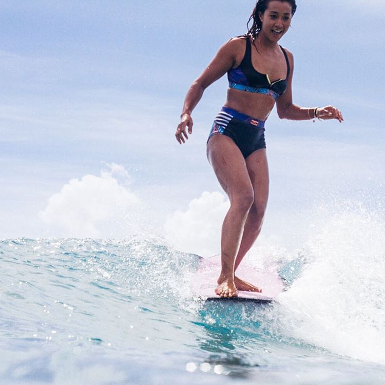 Sunny slides with @keliamoniz #POPsurf
