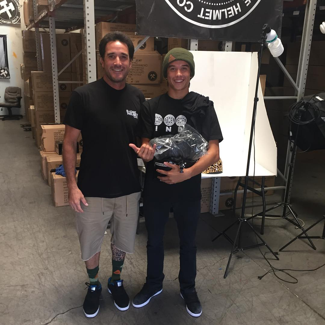 @properrideshop and @heimana_reynolds in da house ! Thanks for stopping by guys ! #s1lifer #s1helmets #properrideshop