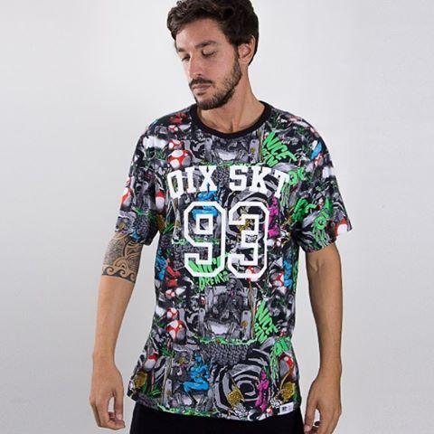Camiseta QIX Nice Dream - Disponível nas lojas de todo o Brasil.
