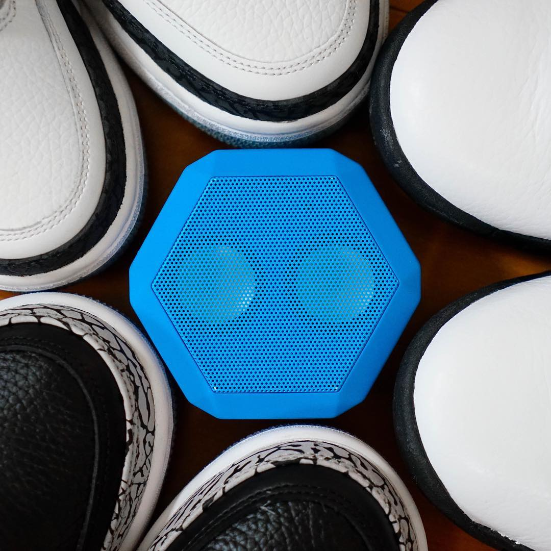 The Rex in Pacific Blue  Where are you taking your Rex today ?  #Boombotix #design #portablespeaker #sneakerhead #essential