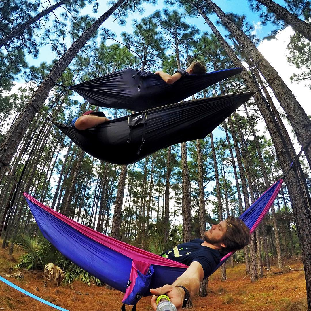 "Relax and ""hang out"" with some friends this weekend! Photo: @mark_volz GoPro HERO4 