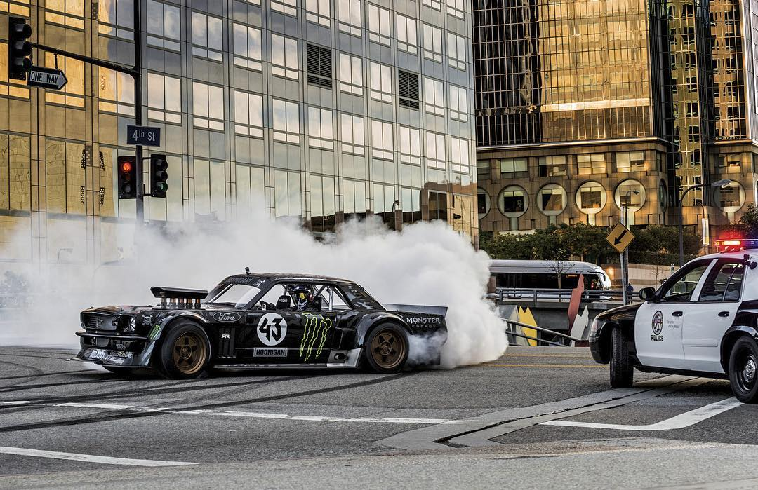 Flashback to HHIC @kblock43 showing Los Angeles who's boss. #hoonicorn