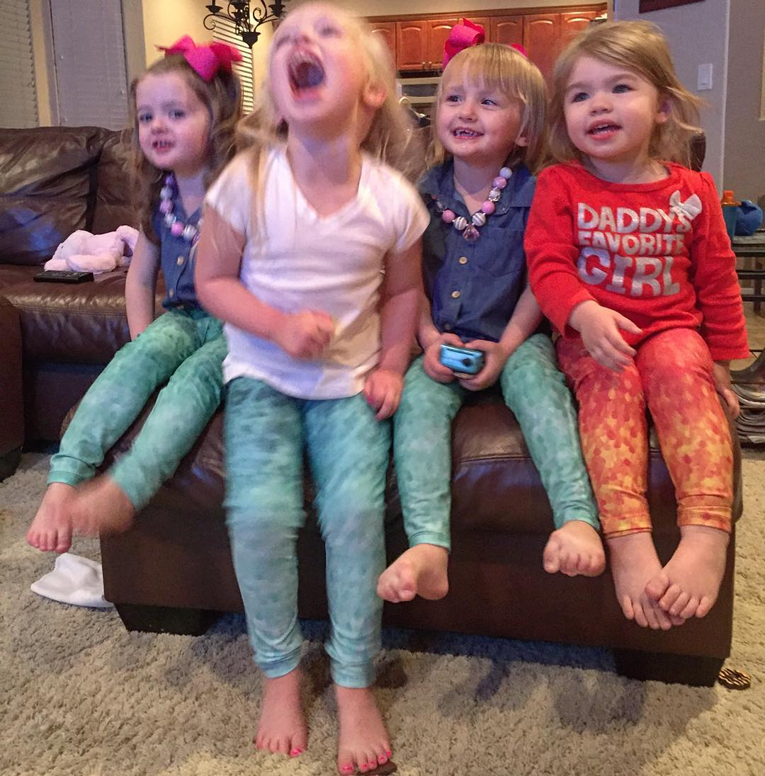 MINNOWS ARE SUPER FUN These little mermaids (nieces of our co-founder & CEO @savvyyogi) are pretty stoked about their first pair of OKIINO #MINNOWS | they are especially excited to wear the UPF 50+ leggings swimming on hot days in Arizona | you can...
