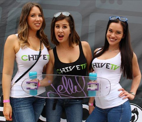 Hangin' w/ @thechive girls at #sxsw ||