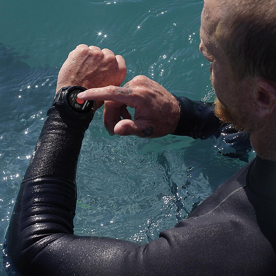 Built smart and built tough, The #Mission can withstand the elements so you can take it with you anywhere: in the water, on the hill, off road and beyond. The world's first action sports smart watch powered by @google #androidwear. Learn more at...