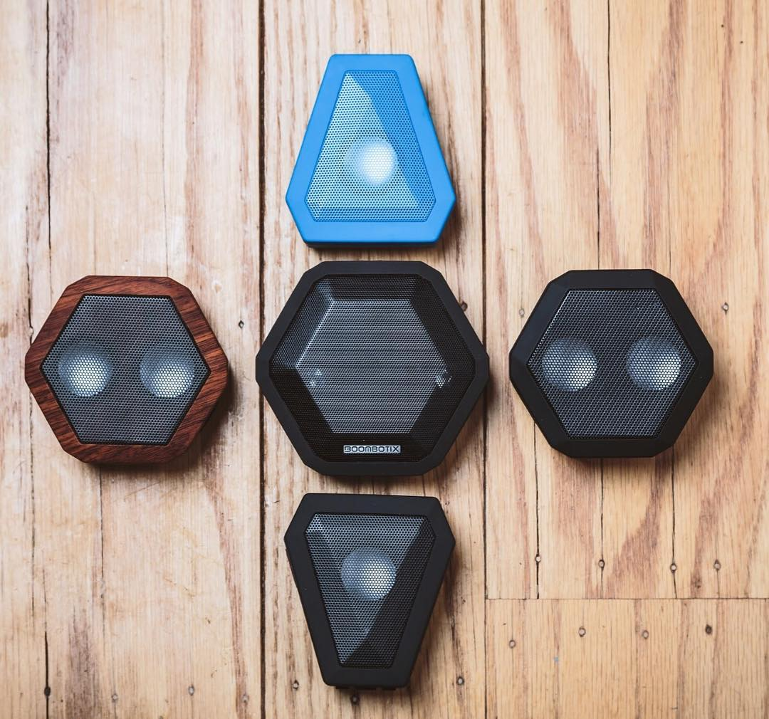 Choose one. #Boombotix  #audiophile #Essentials #design #portablespeaker