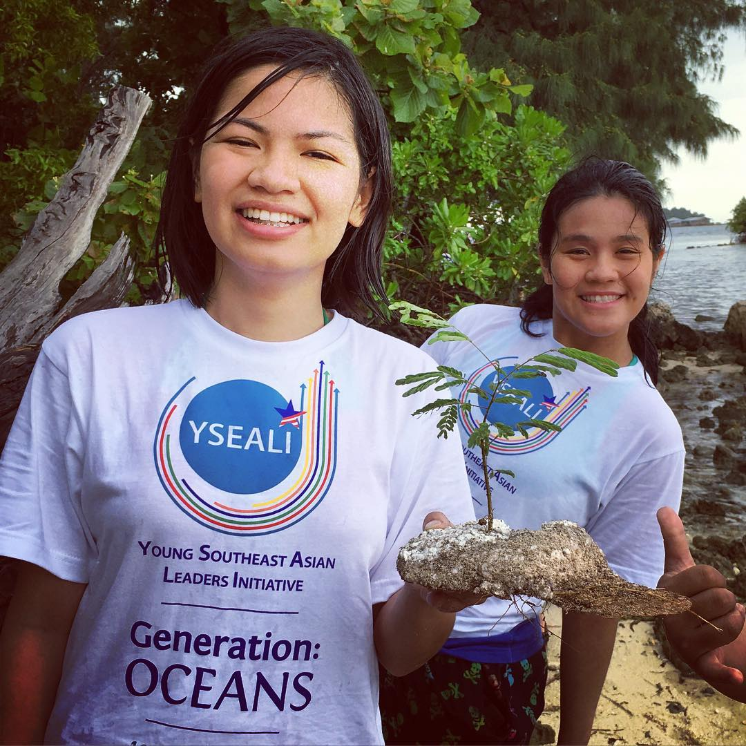 A new age Bonsai Tree discovered during our #ysealioceans #beachcleanup on #pulaupramuka Island... This little plant rooted itself into a piece of styrofoam that had washed up into the #marineprotectedarea. Nature is attempting to adapt to humanity's...