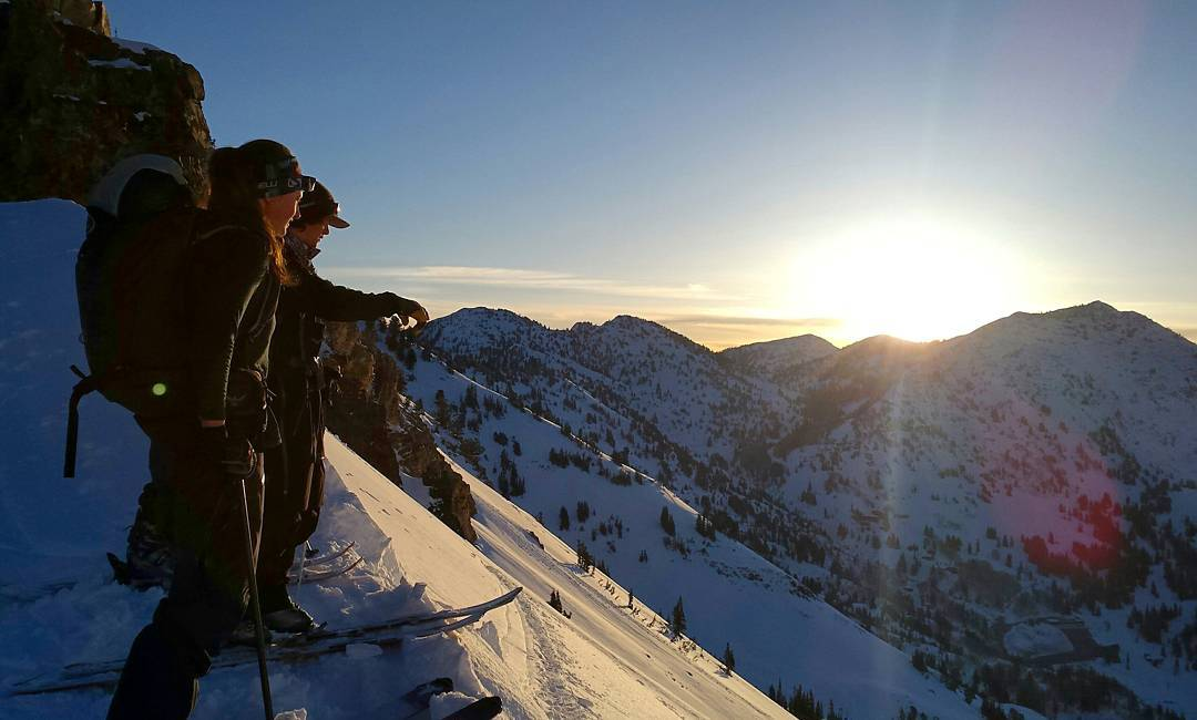 Watching the sunrise over the Wasatch a few weeks ago | PC: @w.matt.meredith