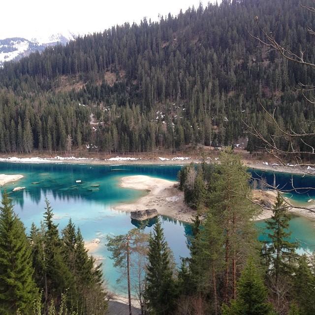 #caumasee laguito en Suiza, asadito y aire primaveral. #switzerland