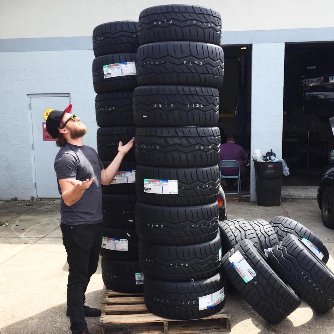 Thanks to @PatGoodin, we learned that happy tires put out more smoke. So make sure to give them a pep talk before you destroy them. #killalltires