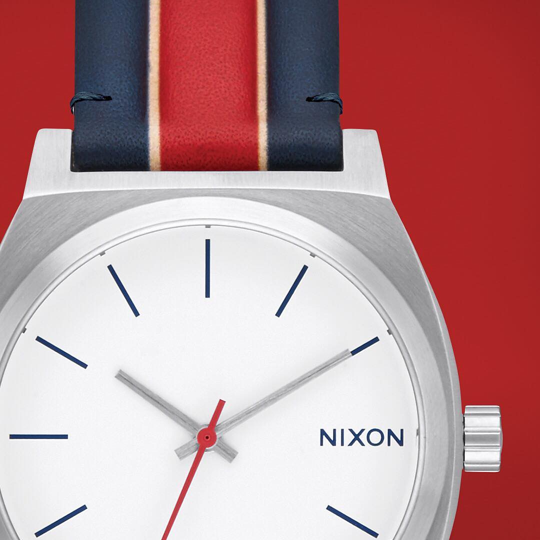 The #TimeTeller from the new Athletica Collection. Plays tough with a modern interpretation of vintage sports style. Consider it your MVP. #Nixon