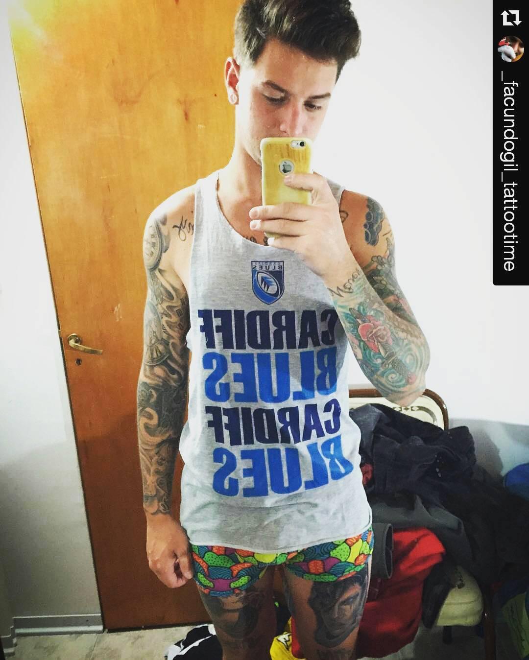 Ponete cómodo Usá GILIPOLLAS ® #Underwear #Man #Boxer #BuenaVida #Lifestyle #CoolBoxer #Style #Rider #tattoo #Gilipollas