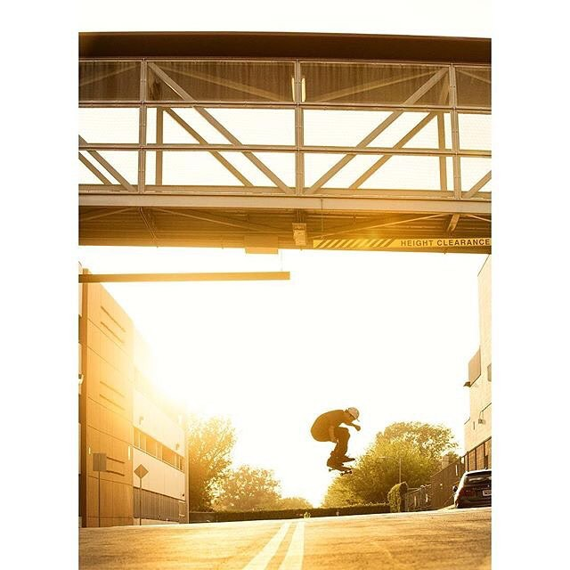 @fgustavoo capping off the weekend with a kickflip at golden hour. Photo: @blabacphoto #FelipeGustavo #DCShoes