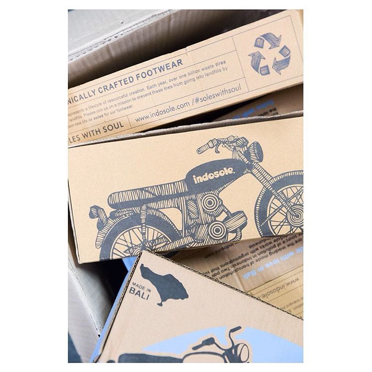 "These designs on our 100% recycled cardboard packaging will soon become ""vintage""... Stay tuned for updates! ✌"