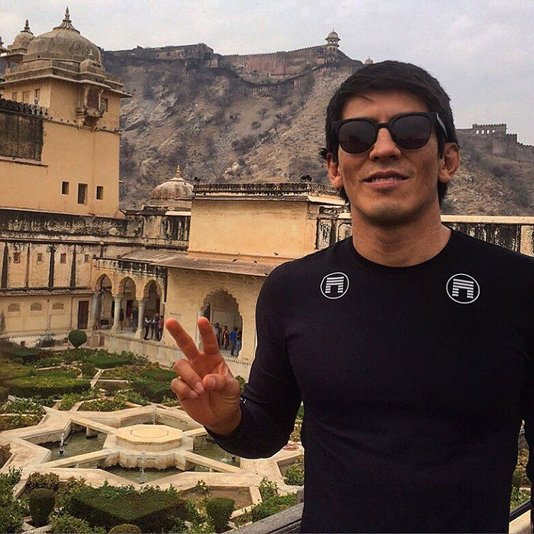 Ichiban means second to none and Matuse Family Member, @jitsugram, is at the Amber Fort aka the Amer Palace and is well suited like #geoprene in the #alphaproject1 UV top that's made from a premium French pique that's quick-drying, temperature...