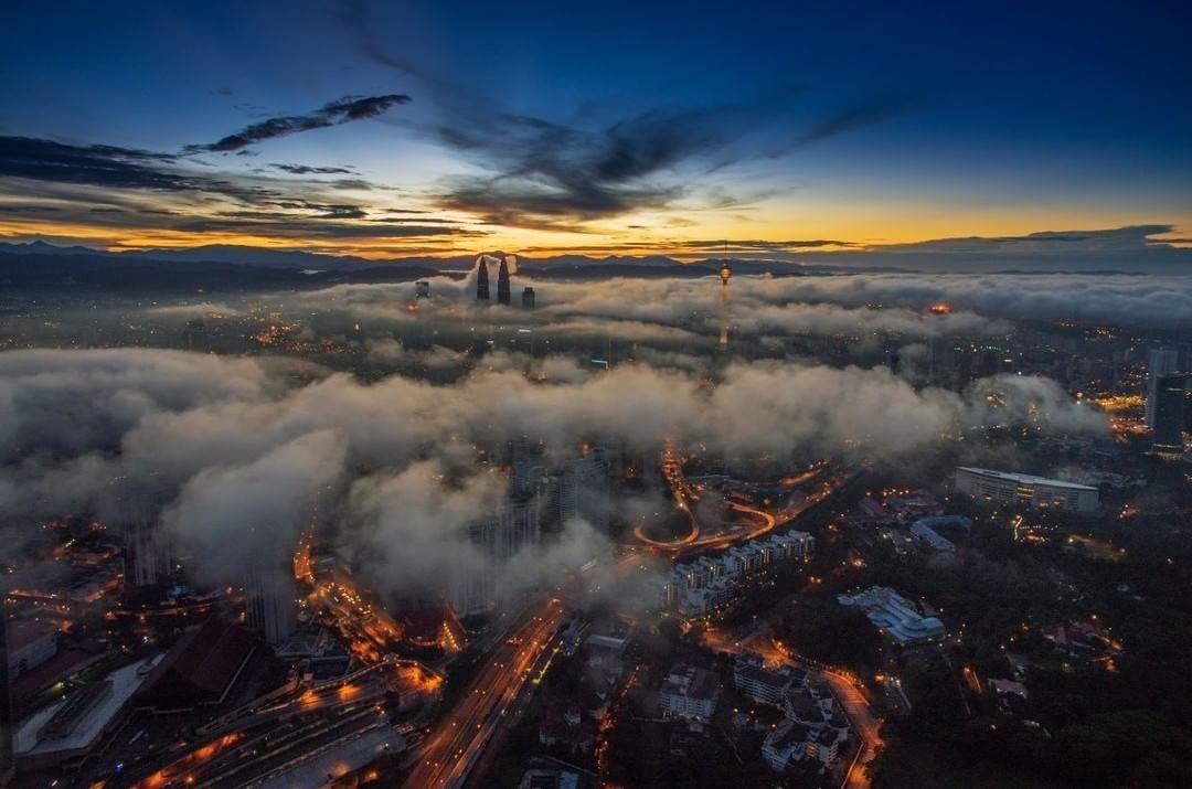 Kuala Lumpur, Malaysia  Credit: Nasrul Effendy | #DJI #Phantom  Use #IamDJI to share your aerial creations with us!
