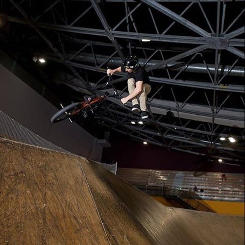 "Yew! #SixSixOne #Bmx rider @tanguylabertrande polishing up some new tricks from this weekend. Fresh ""down whip on the hip"" at his local... What did you get done this weekend? #661Protection #DirtLidPlus #ProtectFun Photo @stephanenadin"