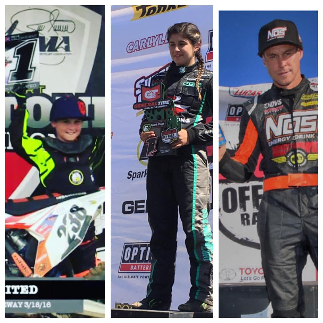 Very solid week for the family. Podiums for all!  Thankful we all came home safe.