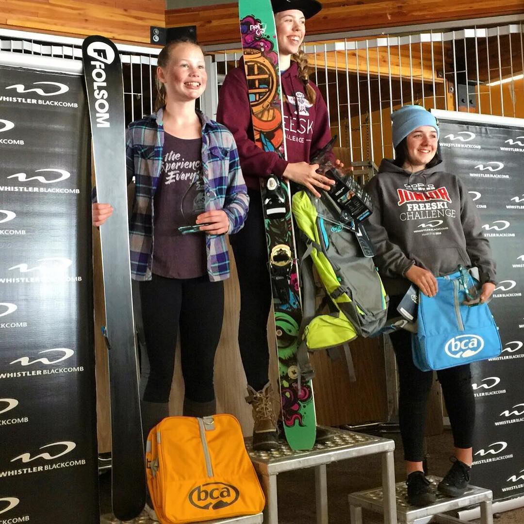 Congrats to @elena_silverman for taking 2nd place at the @whistlerblackcomb @gopro Canadian Nationals on her 163cm Trigger II's