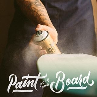 Mark your calendars. April 23rd. Paint your own board. Info in link on profile.
