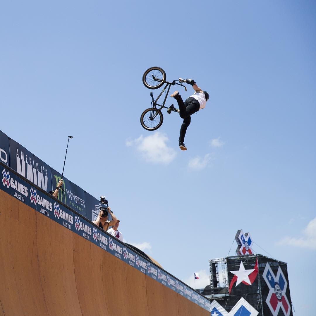 BMX legend and @ToyotaUSA athlete @JamieBestwick has competed at ❌ Games 19 times.  He owns 16 total medals.  13 are gold. #TeamToyota (