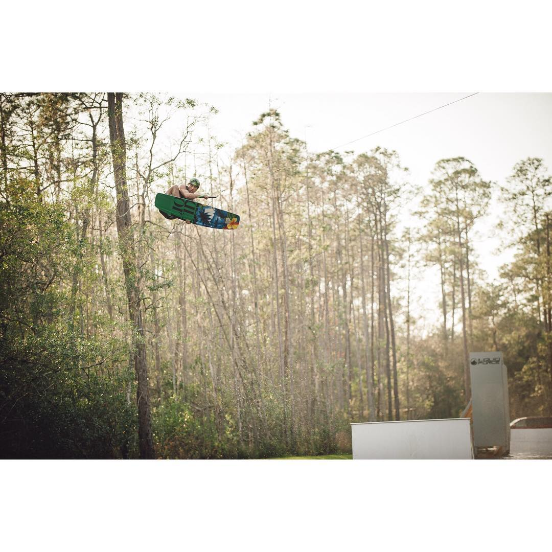 @danielgranttt flies higher and further than anyone on a wakeboard... Get awesome like DG on his new LF'n Awesome Tao - link in bio for more info
