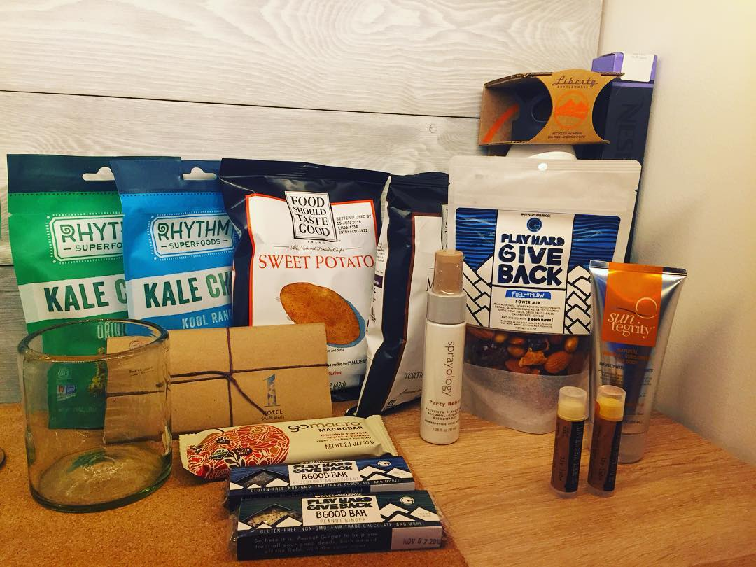 We are super excited that our sports bars and trail mixes are featured in the mini-bars at @1hotelsb. We love their socially responsible mission and hope to have our products featured in their Brooklyn, New York location. This photo came from one of...