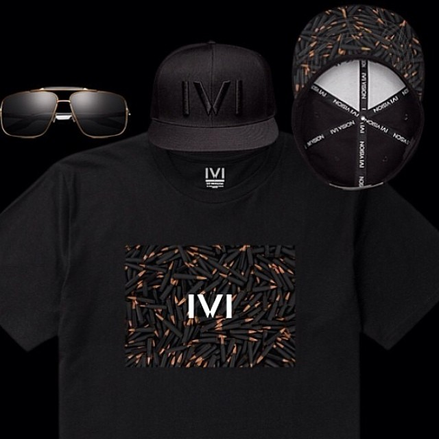 @IVIvision black and copper collection complete with #ivivision #sunglasses #snapback and #tshirt all available now on shop.ivivision.com and your local IVI retailer!