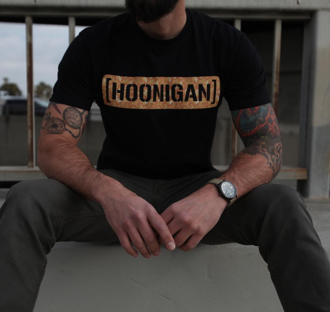 One of the newest favorites around the shop, the Desert Camo C-bar. Available in Black or Royal and only on #hooniganDOTcom.