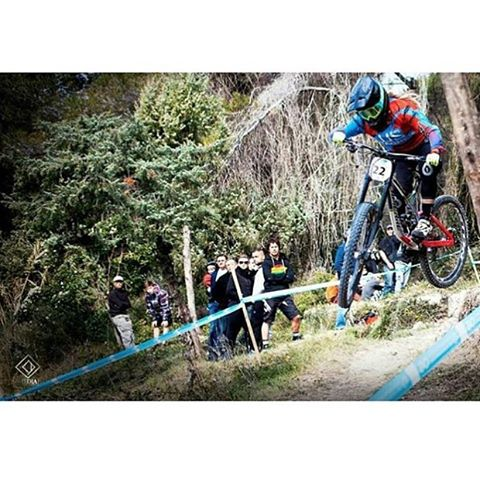 #Repost Congrats to @lapierrebikes #SixSixOne rider @chloe_gallean on 3rd spot at her local DH at Blausasc. Photo Corentin De Meirler #661Protection #RageKnee #mtblife #ProtectFun