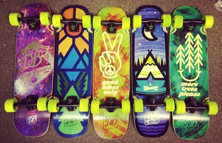 Repost from @actionboardshop in Michigan featuring our Mini Cruisers. Spring is here and our Mini Cruisers are the perfect board for the season! #dblongboards #dbmini #skateboard #skateeverydamnday #sk8
