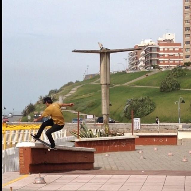Sandro Moral en MDQ Mar del Plata, @sandromoral #Fsbores #skate #team #volcomstonea #volcom #volcomargentina