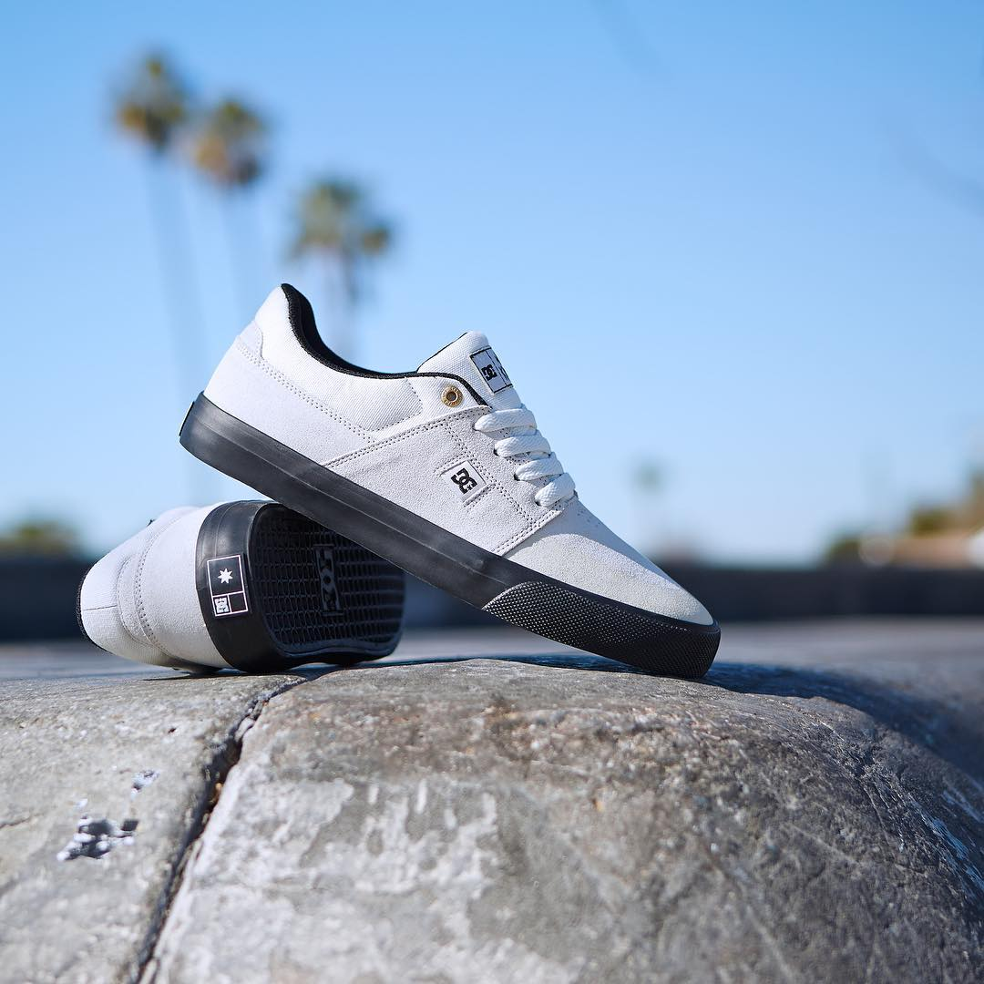 The Wes Kremer SE gets a classic white on black color up for Spring.  Get your pair at your local shop or dcshoes.com. #dcshoes #weskremer