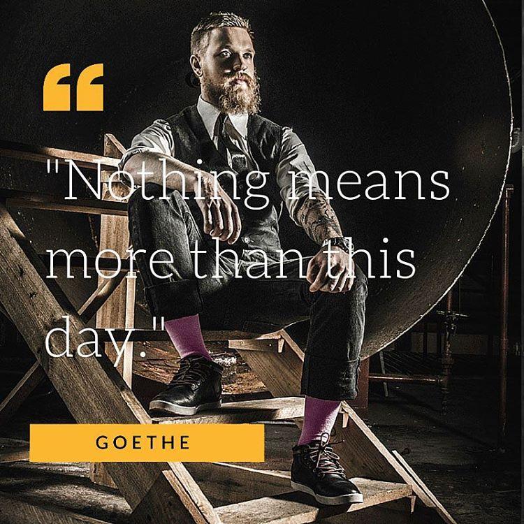 #Quotes #Inspiration #Style #Goethe #Sockstofacetheworld #Kickthecliche #BeMoul #Picoftheday #Fashion #Colour #Design #Elegance